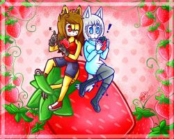 .:AT - Strawberry flavor:. by alexa015