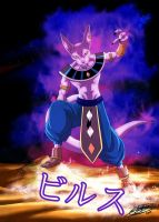 Beerus The God of Destruction by ChibiDamZ
