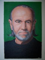 George Carlin by RacieB