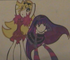 _Panty and Stocking_ by Vampirescurse12