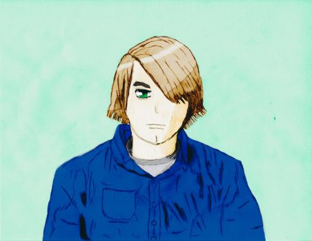Another Self Portrait COLORED by DarylKT