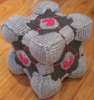 Knit Portal Cube by coincollect408