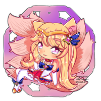 Star Guardian Ahri ~ by bunny-frida