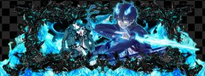 Rin Okumura by Overlord8451