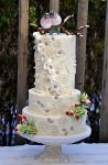 Winter wedding cake by HajnalkaMayor