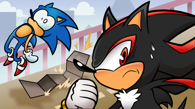 SONIC VS SHADOW - Adventure 2 Battle Multiplayer! by MarkProductions