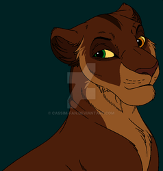 Lioness Headshot Adopt OPEN by Cassim-Fan