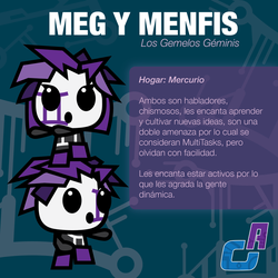 LOS GEMELOS GEMINIS (The Gemini Twins) by Nanvicious
