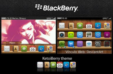 KetoiBerry Blackberry Theme by Ferchu
