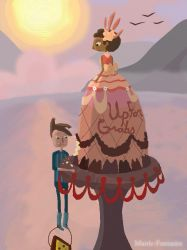 CAKE! (Broken Age) by Manic-Fantasies