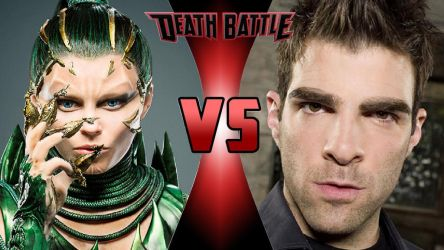 Rita Repulsa vs. Sylar by OmnicidalClown1992