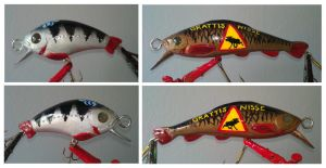 Homemade Crankbaits 2 by K-Bladin