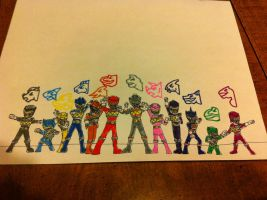 Power Rangers Dino Charge by hotjohnimus