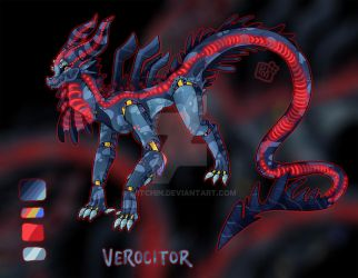 Verocitor ~ ANiMATRONiQUE Custom for Amegaddon by Witchin