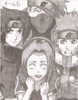 Team 7 by AnimePortraits