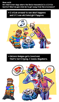 Undertale ask blog: hectic house by neonUFO