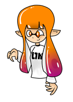 Inkling Girl by CosmicCreme