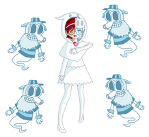 Just a Mostly Ghost Girl and Some Rat Wraiths by PogorikiFan10