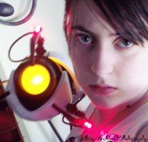 Don't Mess Around - Portal Cosplay WIP 2 by Spiegeln