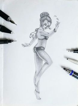 Dancer by Duendepiecito