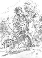 Gambit sketch WIP by deankotz