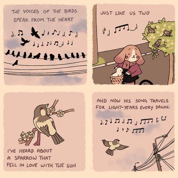 bird songs by leaffkun