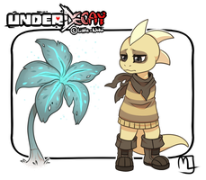 UnderDecay- Monster kid by Little-Noko