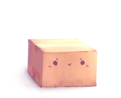 Cardboard Box by S3Link