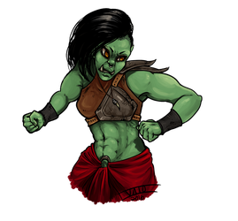 ORC ORC ORC by valokilljoy