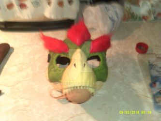 Bowser mask by BERNEST