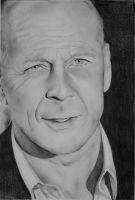 Bruce Willis by CristinaC75