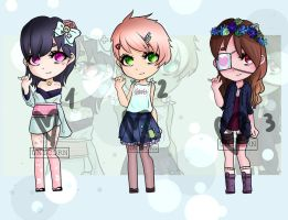 [closed thank you!] Adopt Batch 2 P by Uni-colours