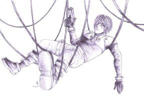 Wire man. by debingth