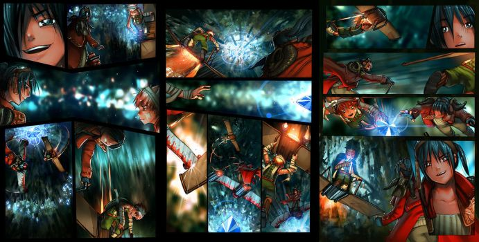 Sky Pirates Issue 3 Pages by -seed-