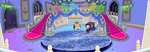 (F2U) Fantage Grand Winter Ball Castle Background by Fario-P