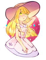 Lillie Doodle by StarGazingHipster