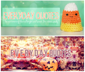 Everyday Quotes 2 and 3 by sugarnote
