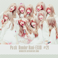 Pack Render Hani-EXID #21 by Windie2k1