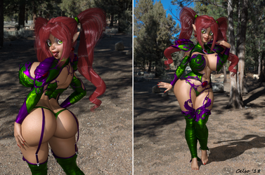 [3D] Princess Loonia  ! by Celso33