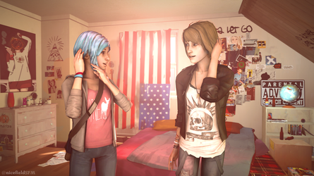 Max and Chloe hair swap by nicefieldSFM