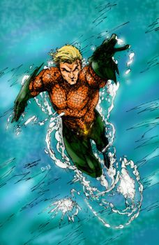 Aquaman Rising by Comicfanatic83
