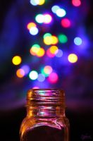 My bottle of bokeh by stefanye