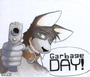 Garbage Day by blue-elem3nt