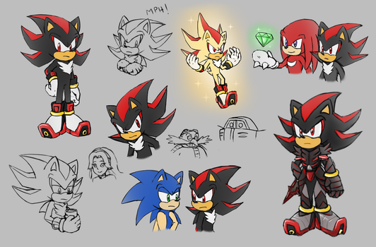 -STH Shadow Doodles!- by Biko97