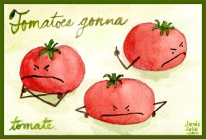 Tomatoes Gonna Tomate by myprettycabinet