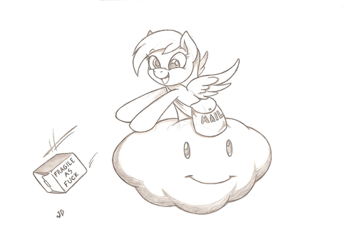 Special Delivery by Joey-Darkmeat