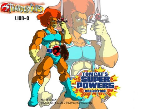Lion-O Lord of the Thundercats by tomcat13