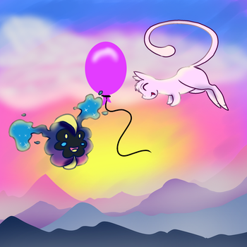 PARPG - Enif and Nebby Aren't Balloon Boys by NataliaDriscol