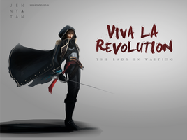 Female Assassin concept (Unity inspired) by jennytan
