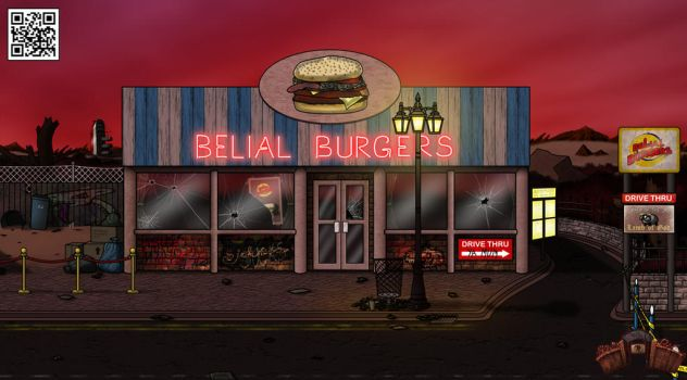 Go To Hell Dave Re-design of Burger Bar by GoToHellDave